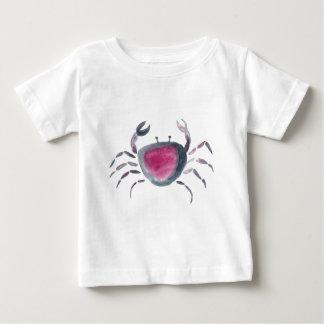 Indigo and Pink Crab Baby T-Shirt