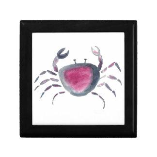 Indigo and Pink Crab Gift Box