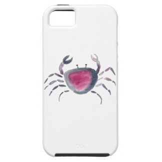 Indigo and Pink Crab iPhone 5 Covers