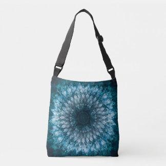 Indigo Blue Mandala Crossbody Bag