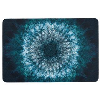 Indigo Blue Mandala Floor Mat