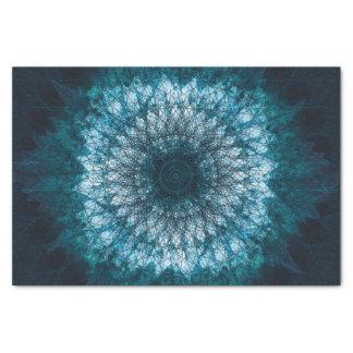 Indigo Blue Mandala Tissue Paper