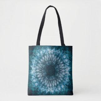 Indigo Blue Mandala Tote Bag
