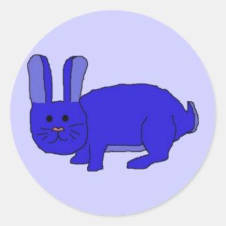 Indigo Bunny stickers