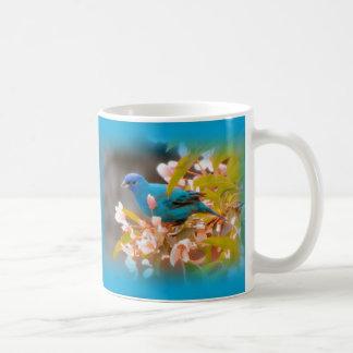 Indigo Bunting Blue Coffee Mug