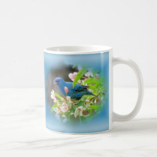 Indigo Bunting Blue Coffee Mug