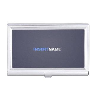 Indigo Business Card Holder