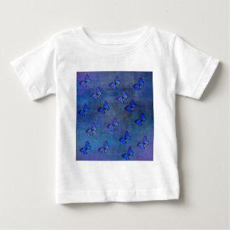 INDIGO BUTTERFLY PATTERN BABY T-Shirt