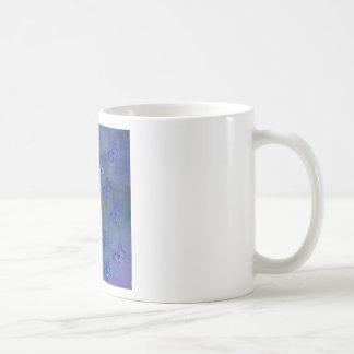 INDIGO BUTTERFLY PATTERN COFFEE MUG