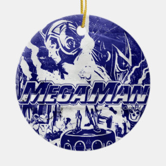 Indigo Ceramic Ornament