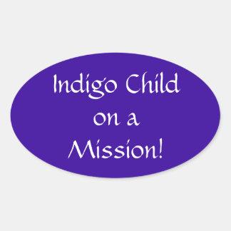 Indigo Child on a Mission Sticker