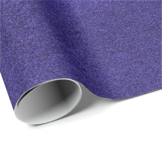 Indigo Cobalt Blue  Deep Navy Monochromatic Cement Wrapping Paper