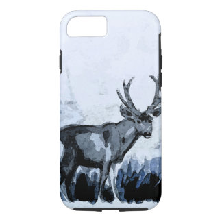 Indigo Deer iPhone 8/7 Case