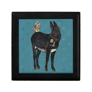 INDIGO DONKEY & OWL Gift Box