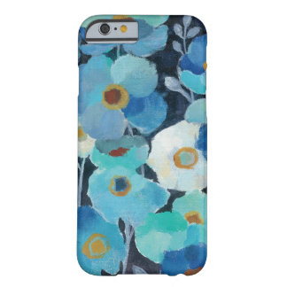 Indigo Flowers Barely There iPhone 6 Case