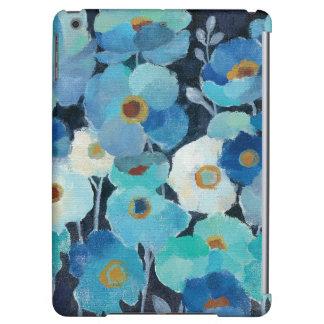 Indigo Flowers Case For iPad Air