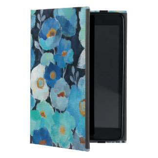 Indigo Flowers Case For iPad Mini