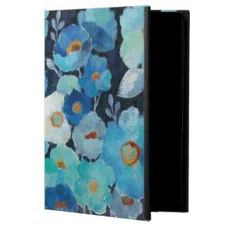 Indigo Flowers iPad Air Case