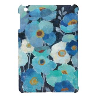 Indigo Flowers iPad Mini Cases