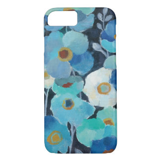 Indigo Flowers iPhone 7 Case