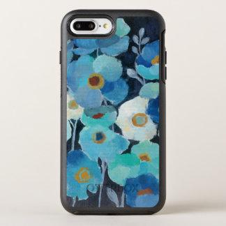 Indigo Flowers OtterBox Symmetry iPhone 7 Plus Case