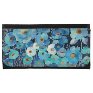 Indigo Flowers Wallet