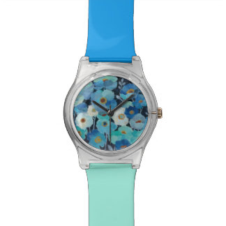 Indigo Flowers Watch