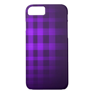 Indigo Ghost Tartan Pattern iPhone 7 Case