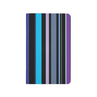 Indigo & Gray Stripes Journal | Awnings Collection
