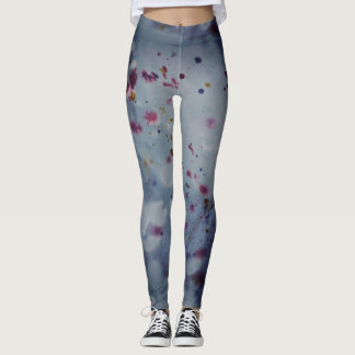 Indigo inky leggings