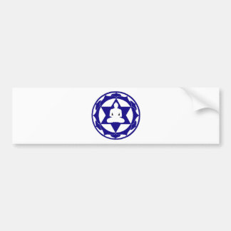 Indigo Lotus Bumper Sticker