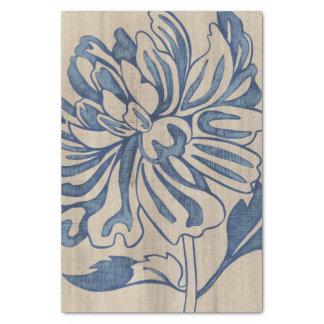 Indigo Mum Tissue Paper