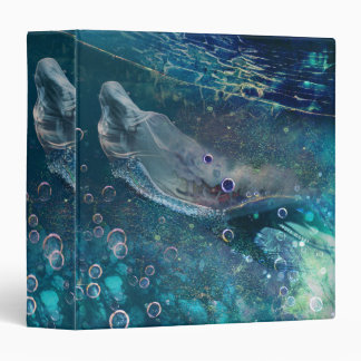 Indigo Mystique Underwater Mermaid 3 Ring Binder