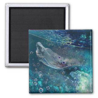Indigo Mystique Underwater Mermaid Magnet