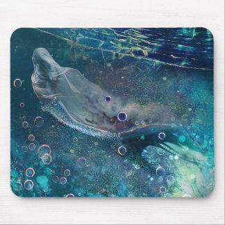 Indigo Mystique Underwater Mermaid Mouse Pad