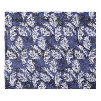 Indigo Palms Duvet Cover