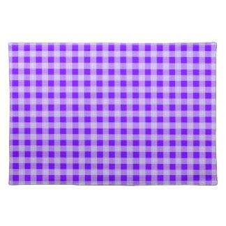 Indigo, Purple Gingham Placemat
