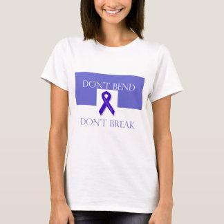 Indigo Ribbon -Don't Bend Don't Break T-Shirt
