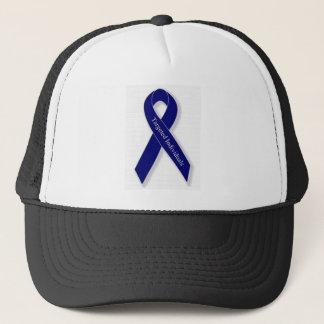 Indigo Ribbon Trucker Hat