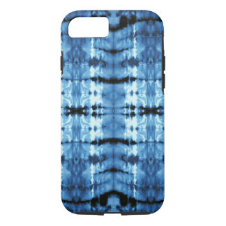 Indigo Satin Shibori iPhone 8/7 Case