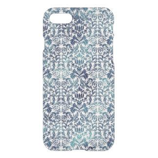 Indigo Shibori Denim Damask Distressed Blue Purple iPhone 7 Case