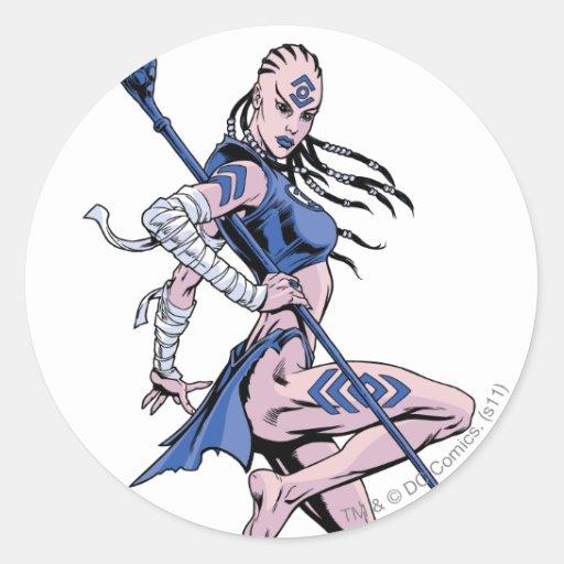 Indigo Tribe 1 Sticker