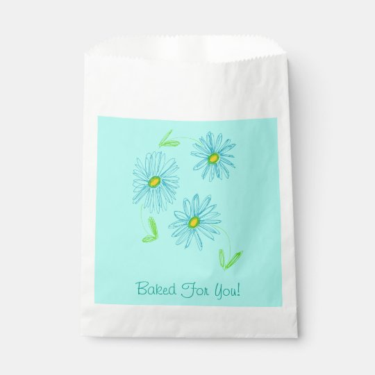 Individual Baked Goods Favour Bag