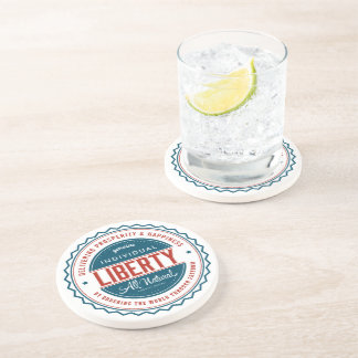 Individual Liberty Beverage Coasters