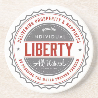 Individual Liberty Drink Coaster