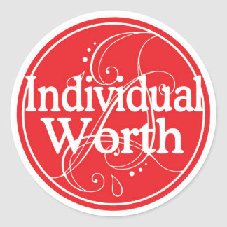 Individual Worth Sticker