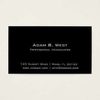 Individuality Business Card