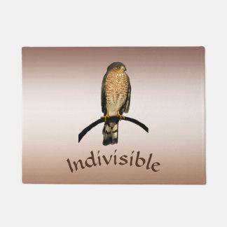 Indivisible Brown Hawk Door Mat