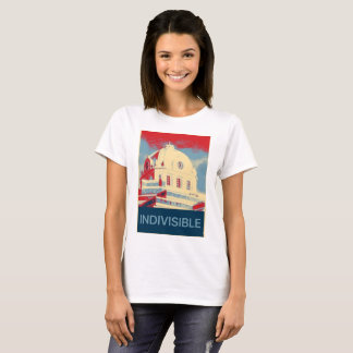 Indivisible DeRidder  with Slogan T-Shirt