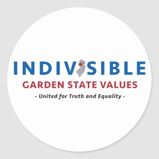 Indivisible GSV Stickers